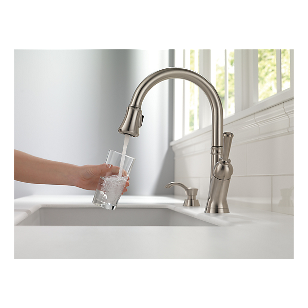 19949 sssd dst single handle pull down kitchen faucet