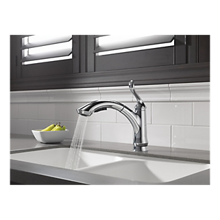 4353 Dst Single Handle Water Efficient Pull Out Kitchen