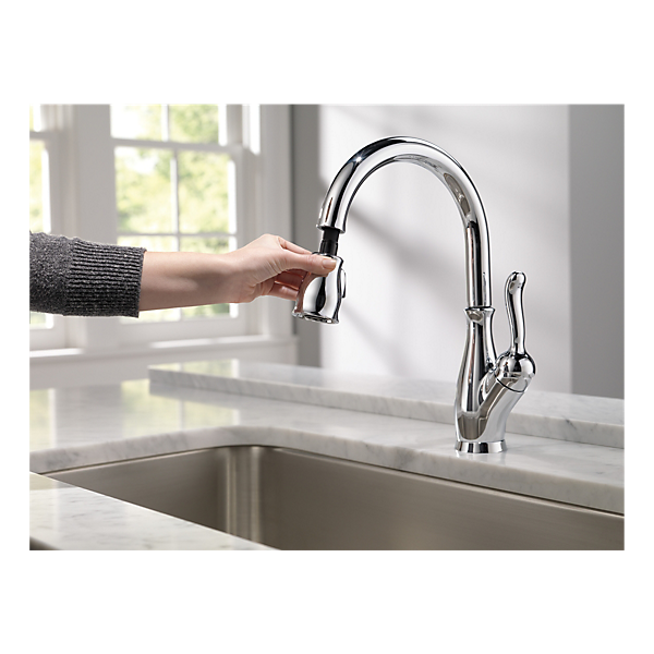 9178 Dst Single Handle Pull Down Kitchen Faucet