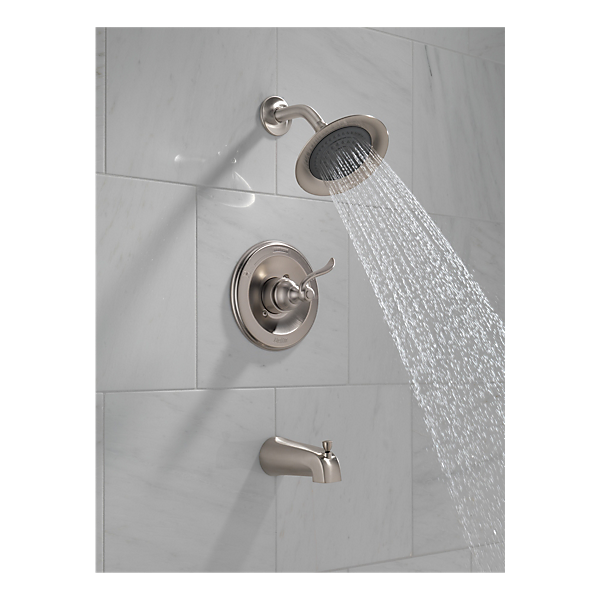 bt14496 ss monitor 14 series tub and shower trim. Black Bedroom Furniture Sets. Home Design Ideas