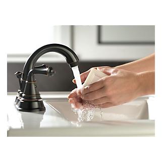 P99790lf Ob Eco Two Handle Centerset Lavatory Faucet
