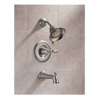 h716ss tub and shower metal lever handle 14455