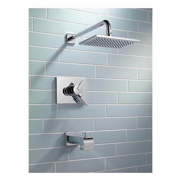 t17453 monitor 17 series tub and shower trim. Black Bedroom Furniture Sets. Home Design Ideas