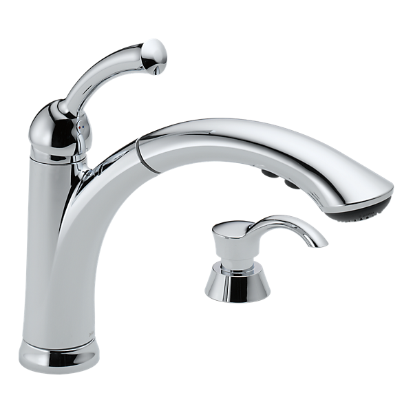 Delta Lewiston Pull Out Kitchen Faucet
