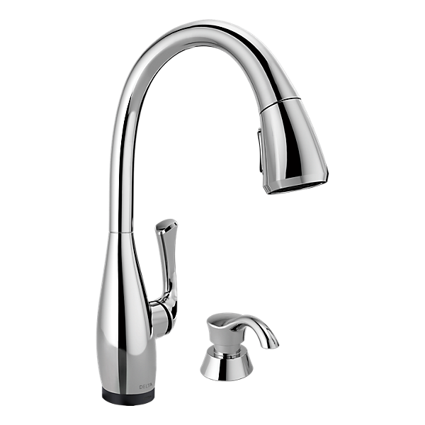 kitchen faucets with touch technology 19940t sd dst single handle pull kitchen faucet 24696