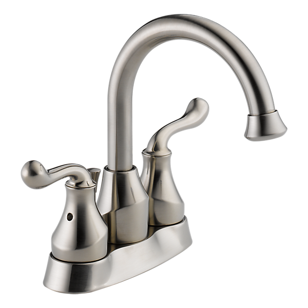 25960lf Ss Two Handle Centerset Lavatory Faucet