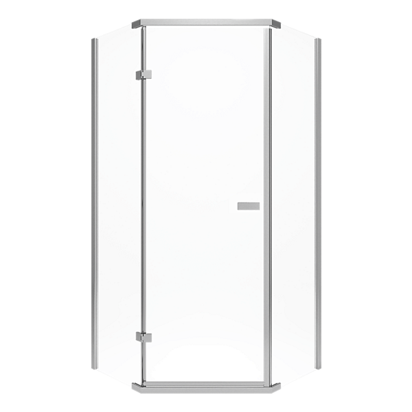 422061 38 Quot Frameless Neo Angle Shower Enclosure