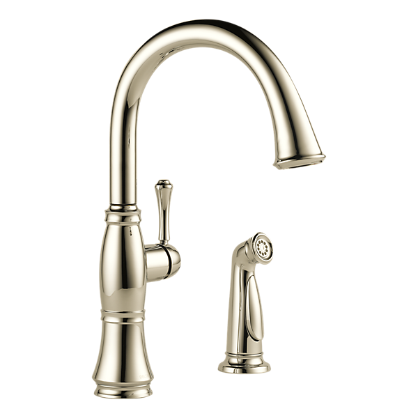 Delta Cassidy Kitchen Faucet: Single Handle Kitchen Faucet With Spray