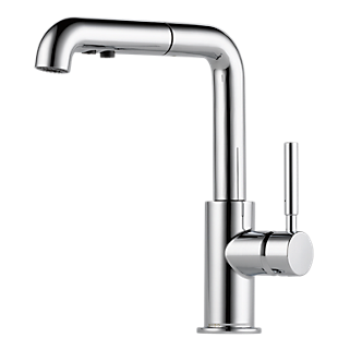 Single Handle Single Hole Pull Down Kitchen Faucet With