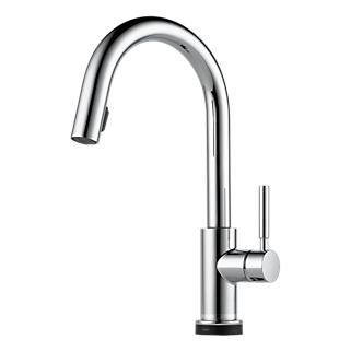 Single Handle Pull Down Prep Faucet 63920lf Bl Solna