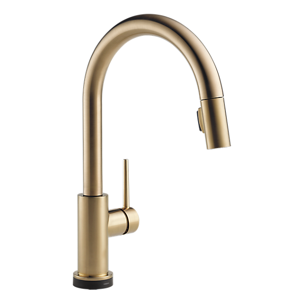 9159t cz dst single handle pull down kitchen faucet with