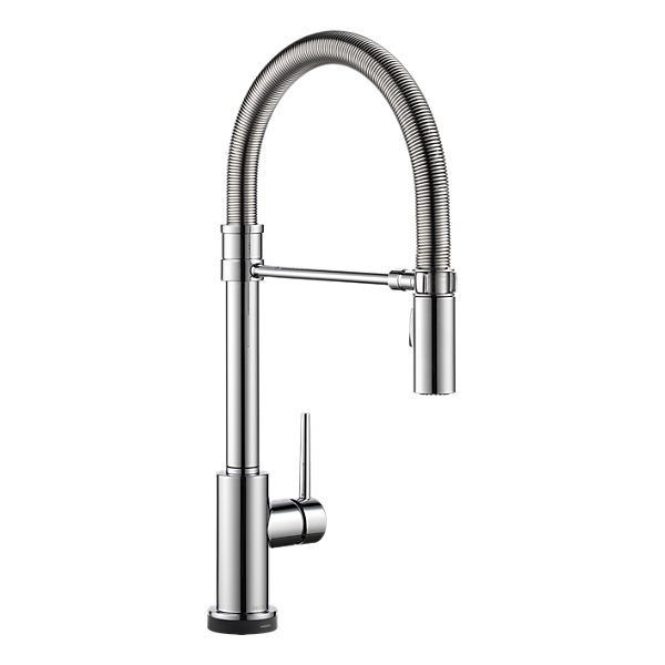 handle pull down spring spout kitchen faucet with touch2o technology