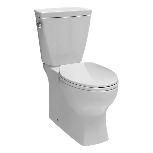 C43906-WH - Elongated Concealed Trapway Toilet