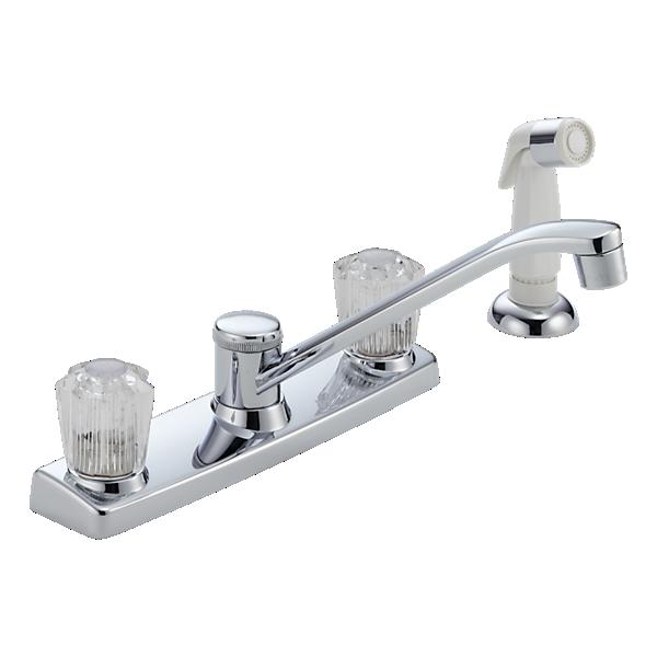P25lf L Two Handle Kitchen Faucet