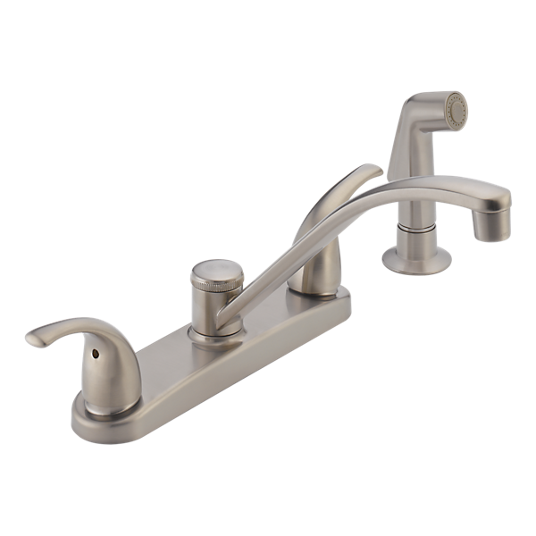 P299508LF SS Two Handle Kitchen Faucet