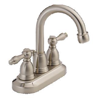 P99616lf Bn Two Handle Centerset Lavatory Faucet