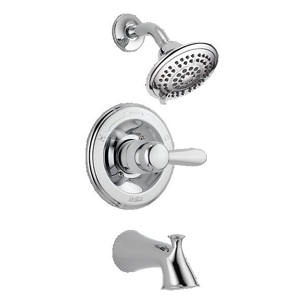 t14438 monitor 14 series tub and shower trim. Black Bedroom Furniture Sets. Home Design Ideas