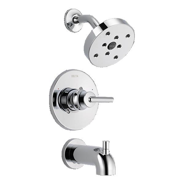 t14459 monitor 14 series h2okinetic tub and shower trim. Black Bedroom Furniture Sets. Home Design Ideas