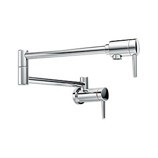 Delta Contemporary Wall Mount Pot Filler