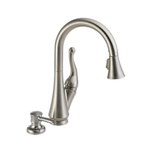 Talbott™ Single Handle Pull-Down Kitchen Faucet with Soap Dispenser