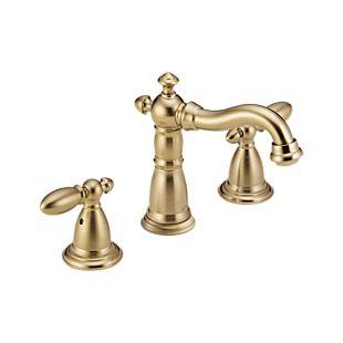 Victorian Two Handle Widespread Bathroom Faucet