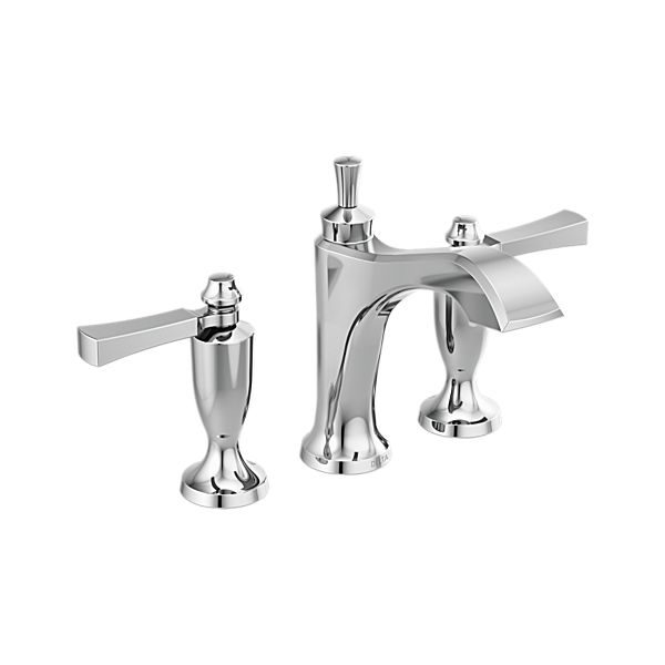Two Handle Widespread Bathroom Faucet 3556 Mpu Dst Delta Faucet