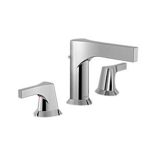 zura Two Handle Widespread Bathroom Faucet