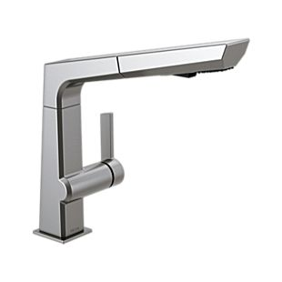 Pivotal Single Handle Pull-Out Kitchen Faucet