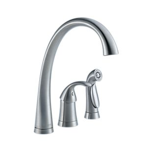 Pilar® Single Handle Kitchen Faucet with Spray