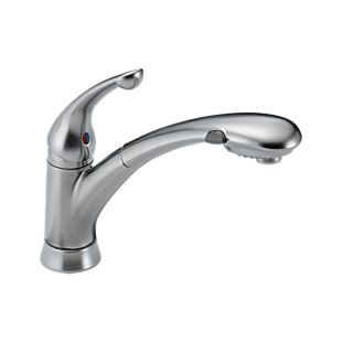 Signature Single Handle Pull-Out Kitchen Faucet
