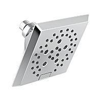 Pivotal H<sub>2</sub>Okinetic 5-Setting Angular Modern Raincan Shower Head