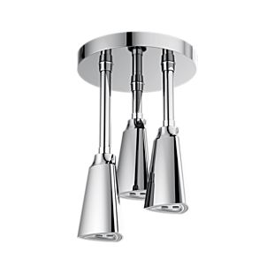Zura H<sub>2</sub>Okinetic Pendant Raincan Shower Head with LED Light