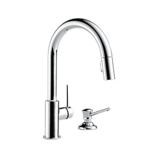 Trinsic® Single Handle Pull-Down Kitchen Faucet