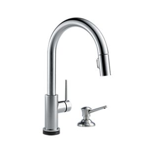 Trinsic® Single Handle Pull-Down Kitchen Faucet with Touch<sub>2</sub>O Technology