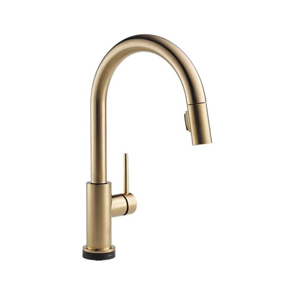 Single Handle Pull-Down Kitchen Faucet with Touch<sub>2</sub>O Technology
