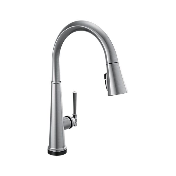 Single Handle Pull Down Kitchen Faucet with Touch<sub>2</sub>O Technology