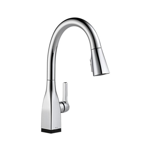 Single Handle Pull-Down Kitchen Faucet with Touch<sub>2</sub>O and ShieldSpray Technologies