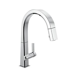 Pivotal Single Handle Pull Down Kitchen Faucet