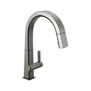 Pivotal Single Handle Pull Down Kitchen Faucet
