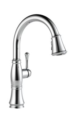 Cassidy™ Single Handle Pull-Down Kitchen Faucet with ShieldSpray Technology