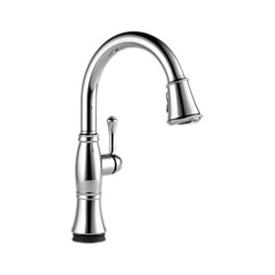 Cassidy Single Handle Pull-Down Kitchen Faucet with Touch2O Technology