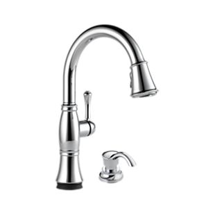 Cassidy™ Single Handle Pull-Down Kitchen Faucet with Touch<sub>2</sub>O and ShieldSpray Technologies