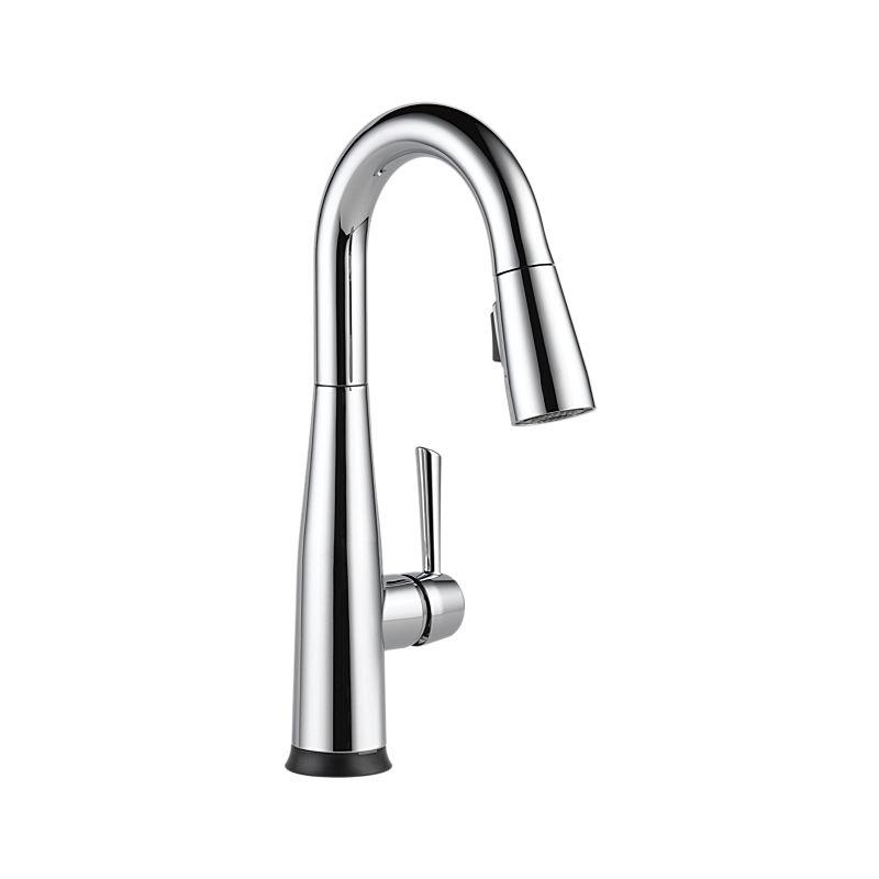 9913t Dst Essa Single Handle Pull Down Bar Prep Faucet