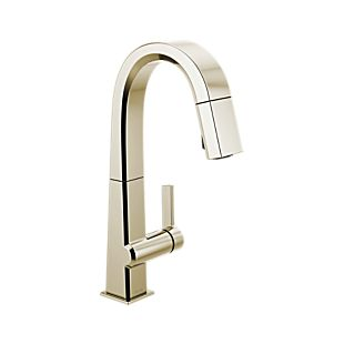 Pivotal Single Handle Pull Down Bar/Prep Faucet