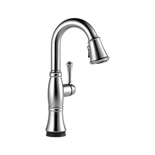 Cassidy Single Handle Pull-Down Bar/Prep Faucet with Touch2O Technology
