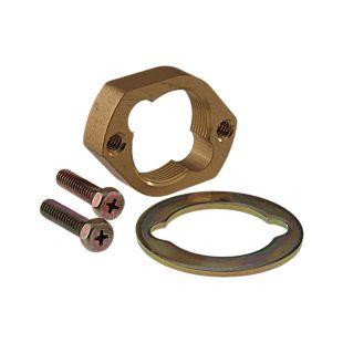 Delta Mounting Nut, Washer & Screws (2)