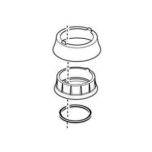 Delta Trim Ring, Base & Gasket