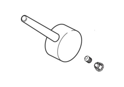 Delta Metal Lever Handle Kit