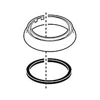 Delta Trim Ring & Gasket