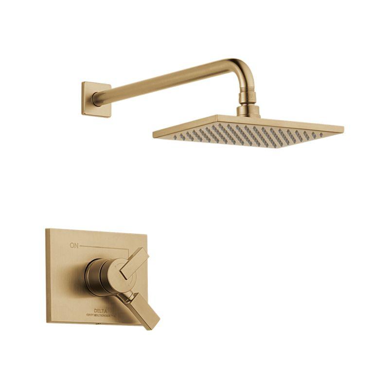 T17253 Cz Vero Monitor 17 Series Shower Trim Bath